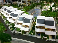 Villa -- Zaha Hadid designed showflat in Singapore -- D'Leedon Luxury Condo