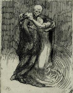 scribe4haxan:  Elle consacre l'amour (Elle series, 1900) ~ Albert Besnard