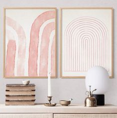 Set of 2 pink prints Two prints Set Downloadable abstract #wallartdecor #wallartprints #downloadable #printablewallart #homedecorationideas #artworkforsale #walldecoration #walldecorideas #etsyfinds #etsyartprints