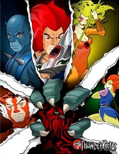 Thundercats. 80s cartoons  I watched Thundercats religiously.