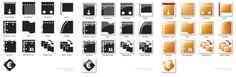 WOKKE Vormgeving & Communicatie | Iconen #icons #symbols #graphic #design #buttons