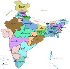 India Map With All States.16 Best States In India Images City Maps Location Map State Map
