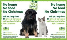 Have you seen the Christmas appeal from Wood Green Animal Shelters? Donating just £3 gives a homeless pet food and shelter this Christmas...Please like and share...and help us spread the word!      https://www.facebook.com/BurgessSupadog
