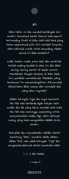 Story Quotes, Mood Quotes, Poetry Quotes, Life Quotes, Quotes Quotes, Reminder Quotes, Message Quotes, Self Reminder, Sabar Quotes