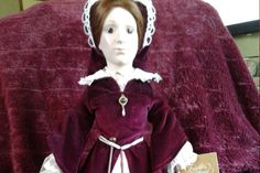 Beautiful Vintage Franklin Mint heirloom Queen Mary I