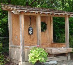 teahouse in garden at DuckDuckGo Japanese Garden Backyard, Japanese Garden Style, Japanese Tea House, Japan Garden, Garden Gazebo, Japanese Gardens, Asian Landscape, House Landscape, Pergola