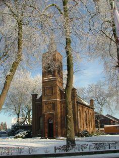 Evangelisch - reformierte Kirche Suderwick im Winter