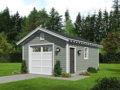 77 Best 1 Car Garage Plans Images In 2019 Garage Garage Plans