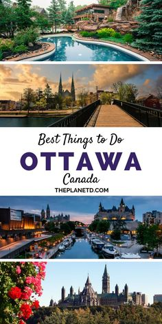 32 things to do in Ottawa. Travel to Canada's capital city in the summer for a biplane flight, explore the Winterlude festival during the winter or the Tulip Festival in the Spring, go Shopping at Byward Market, and dive into the food scene in downtown at Places To Travel, Travel Destinations, Places To Visit, Banff, Napa Valley, Stuff To Do, Things To Do, Road Trip, Ottawa Canada