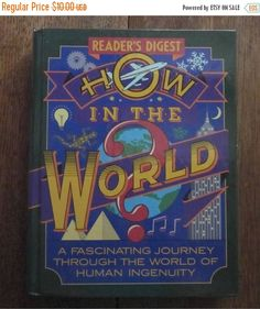 ON SALE 30% OFF How In The World Reader's Digest by HobbitHouse