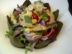 Osha Thai Artichoke & Kobe salad