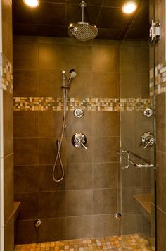 Custom Tile Shower Design, Pictures, Remodel, Decor and Ideas