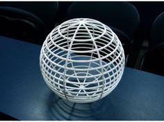 #2 - longitude and latitude - Henry Segerman's Mathematical Art - Sphere Spheres / Crystal Balls : More At FOSTERGINGER @ Pinterest
