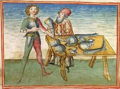 Sigenot — Stuttgart (?) - Werkstatt Ludwig Henfflin, um 1470 Cod. Pal. germ. 67 Folio 8r