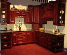 spice maple kitchen with door style cabinetskitchen cabinet