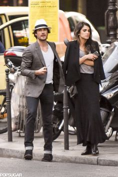 Ian Somerhalder and Nikki Reed in Paris May 2015 | POPSUGAR Celebrity