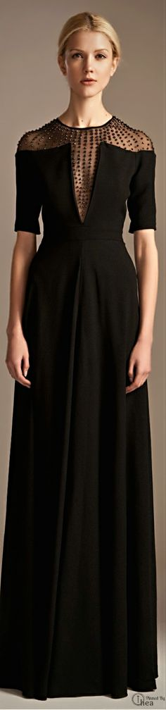 Temperley London ● Autumn/Winter 2013 <-- would love this as a short cocktail dress. Love the top.