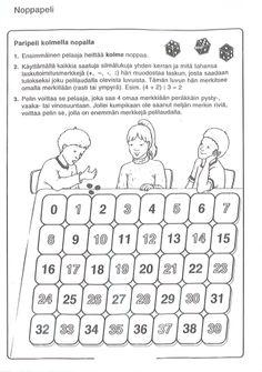Eri laskutoimitukset-peli (4-lk). 3rd Grade Math, Thinking Skills, Addition And Subtraction, Math Games, Teaching Math, Words, Horse