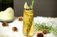 Rosemary Champagne