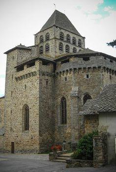 Boussac's fortified church.