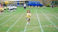 I was first in the race on sports day! I was happy all week!