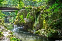 Bigar Waterfall, Caras Severin County, Romania