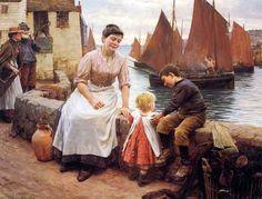 Walter Langley (1852 – 1922, English)