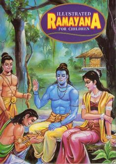 Age of the Patriarchs, Level A, Literature Illustrated Ramayana for Children by India Epic