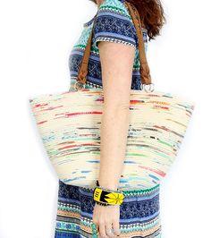 DIY Coiled Rope Tote Bag by AlisaBurke