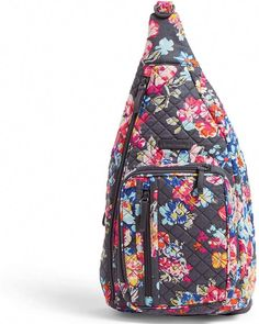 Shop the latest collection of Vera Bradley Signature Cotton Sling Backpack, Pretty Posies from the most popular stores - all in one place. Fashion Handbags, Tote Handbags, Cross Body Handbags, Vera Bradley Handbags, Vera Bradley Backpack, Hobo Purses, Gucci Purses, Boys Backpacks, Backpack Online
