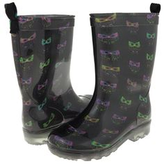 How cute are these?! Perfect for back to school! Capelli NY Rain Boots!