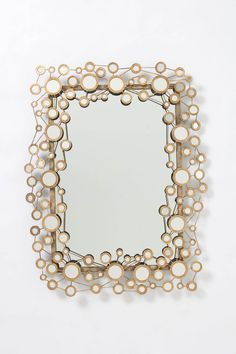 Circle Jig Mirror from Anthropologie