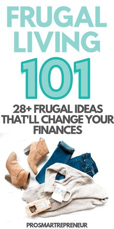 Frugal Living Ideas: Frugal Ideas That'll Change Your Finances – Finance tips, saving money, budgeting planner Frugal Living Tips, Frugal Tips, Frugal Blogs, Budgeting Finances, Budgeting Tips, Money Tips, Money Saving Tips, Money Hacks, Money Savers