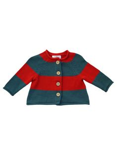 Right Bank Babies Striped Cardigan