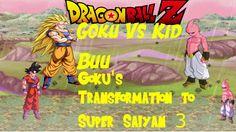 DragonBall Z: Goku vs Kid Buu Rematch (Sprite Animation)