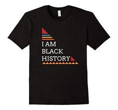 I Am Black History African Pattern T-Shirt