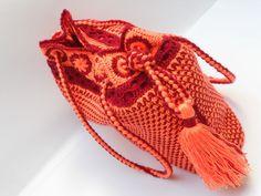 Tunisian crochet pattern of a handbag for women in mediterrenian ... www.etsy.com