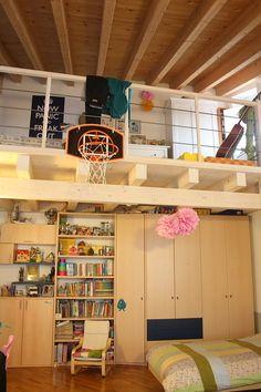 Teen Basketball Court Bedroom | Basketball room, Boys and ...