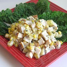 Csirkés kukoricasaláta, vacsora 25 perc alatt! Mennyei és               Csirkés kukoricasaláta