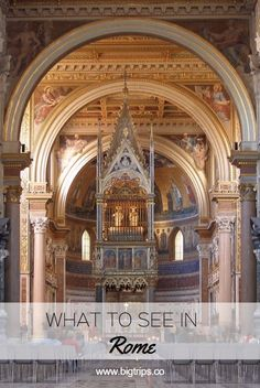 Basilica di San Giovanni in Laterano. What to see in Rome, Italy. All places on the map #rome #italy #travel #whattosee