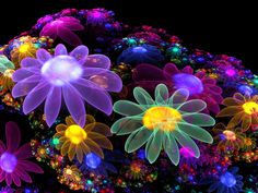 what a great find here nice floral neon