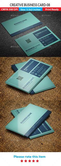 Creative #Business #Card -08 - Creative Business Cards