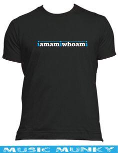 IAMAMIWHOAMI  NEW t-shirt male female kids all colours & sizes electro