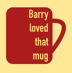 "The Flash- ""Barry loved that mug!"""