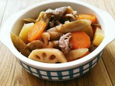 根菜の煮物☆炊飯器で超簡単柔らかの画像 Pot Roast, Food And Drink, Cooking, Ethnic Recipes, Castle, Carne Asada, Kitchen, Roast Beef, Castles