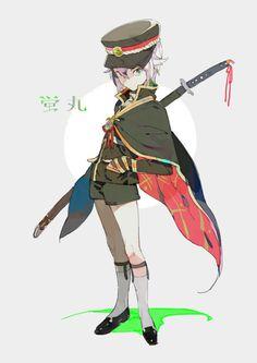 刀剣乱舞 Pose Reference Photo, Drawing Reference, All Anime, Anime Manga, Touken Ranbu Characters, Concept Art Gallery, Anime Eyes, Chibi, Character Design