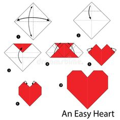 Hello friend, in this tutorial on making origami paper, we will guide you on how to make an origami heart. Okay, we just started how to make the heart of origami paper. The First Step Provide origami paper first. Origami Ball, Diy Origami, Origami Dog, Easy Origami Heart, Origami Swan, Origami Star Box, Origami Fish, How To Make Origami, Origami Animals