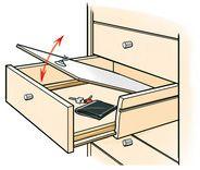 Schubladen-Versteck