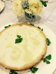 white chocolate tart