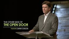 The Other Side of the Open Door - Pastor Carter Conlon Faith Walk, Door Opener, The Other Side, Christian Faith, Christianity, Times Square, September, Doors, Youtube
